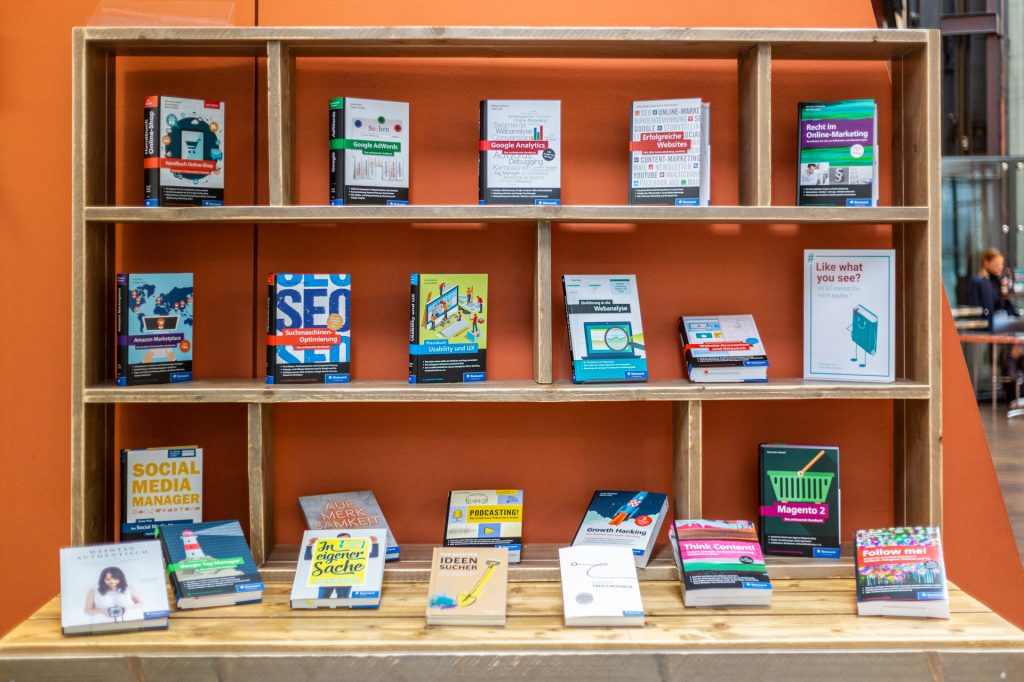Unsere Online-Marketing-Bibliothek zum Reinlesen
