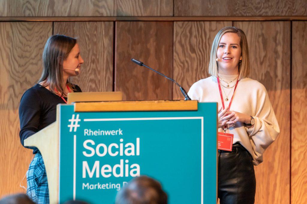 Verena Lammert und Clare Devlin